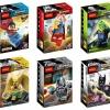 เลโก้จีน Decool 0199-0204 ชุด Super Heroes