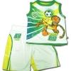 ชุดเด็ก สีขาว-เขียว ลาย Tigger 3T