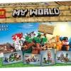 เลโก้จีน BELA 10177 ชุด Minecraft 8in1