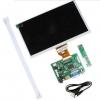 7 inch Raspberry Pi IPS LCD With HDMI VGA AV Screen Display Monitor Module With Keyboard plate