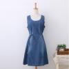 [พรีออเดอร์] เสื้้อเดรสยีนส์แฟชั่นเกาหลีใหม่ สำหรับผู้หญิงไซส์ใหญ่ - [Preorder] New Korean Fashion Jeans Dress for Large Size Woman