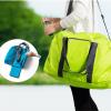 กระเป๋าผ้าเดินทาง ใบใหญ่ พับเก็บได้ พกพาสะดวก ดีไซน์สวย เรียบหรู ใส่ของเอนกประสงค์