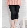 พรีออเดอร์ กางเกงแฟชั่นเกาหลีไซส์ใหญ่ ขา 3 ส่วน - Preorder Plus size Women ฺKorean HitzColored Casual Pants