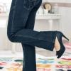 [พรีออเดอร์] กางเกงยีนส์เอวต่ำ เท่ห์ ๆ สำหรับผู้หญิงไซส์ใหญ่พิเศษ - [Preorder] Thin Cut Jeans for Large Size Women