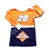 เสื้อ สีส้ม-ดำ ลาย 20 Tony Stewart 6T