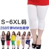 **พรีออเดอร์** กางเกงแฟชั่นเกาหลีไซส์ใหญ่ Brand 3QMiss ขา 3 ส่วน **Preorder** Plus size Women ฺKorean Hitz Brand 3QMiss Colored Casual Pants