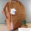 กระเป๋าเป้ Anello Leather Camel beige (Standard) หนัง PU กันน้ำ