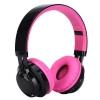 Sonun AB-005 หูฟังครอบหู bluetooth สเตอริโอ ไร้สาย เสียงดี รองรับ FM/TF Card MP3 โทรศัพท์ และมีไฟ LED