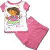 ชุดเด็ก สีขาว-ชมพู ลาย Dora 3T