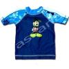 ชุดว่ายน้ำ สีน้ำเงิน-ขาว ลาย Mickey Mouse 2T