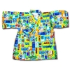 เสื้อจิมเบอิ สีฟ้า-เขียว-เหลือง ลาย Thomas