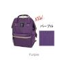 กระเป๋าเป้ Anello canvas purple (Mini)