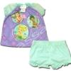 ชุดเด็ก สีม่วง-เขียว ลาย Fairies กับดอกไม้ 8T