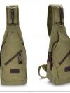 Cross Bags กระเป๋าคาด อก สะพายข้าง CR001 สี เขียว พร้อมส่ง