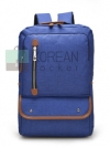 Back pack(กระเป๋าเป้ สะพายหลัง) BA032 สี น้ำเงิน พร้อมส่ง