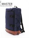 Y-MASTER Back pack(กระเป๋าเป้ สะพายหลัง) BA015 สีน้ำเงิน พร้อมส่ง