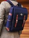 Back pack(กระเป๋าเป้ สะพายหลัง) BA005 สีน้ำเงิน พร้อมส่ง
