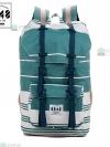 Back pack(กระเป๋าเป้ สะพายหลัง) BA027 สี ฟ้าคราม พร้อมส่ง