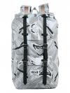 Back pack(กระเป๋าเป้ สะพายหลัง) BA027 สี ขาว พร้อมส่ง