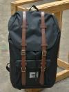 Back pack(กระเป๋าเป้ สะพายหลัง) BA027 สี ดำ พร้อมส่ง