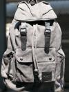 Back pack(กระเป๋าเป้ สะพายหลัง) BA001 สีเทา พร้อมส่ง