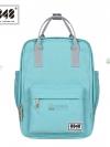 Back pack(กระเป๋าเป้ สะพายหลัง) BA043 สี พาสเทล เขียวอ่อน พร้อมส่ง