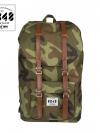 Back pack(กระเป๋าเป้ สะพายหลัง) BA027 สี คาโม(ทหาร) พร้อมส่ง