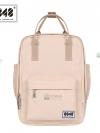 Back pack(กระเป๋าเป้ สะพายหลัง) BA043 สี ครีม พร้อมส่ง