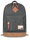 MR.ACE HOMME Back pack(กระเป๋าเป้ สะพายหลัง) BA021 สีดำ พร้อมส่ง