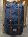 Back pack(กระเป๋าเป้ สะพายหลัง) BA027 สี กรม(น้ำเงิน) พร้อมส่ง