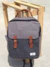 INPLAY Back pack(กระเป๋าเป้ สะพายหลัง) BA023 สีเทา พร้อมส่ง
