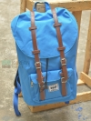 Back pack(กระเป๋าเป้ สะพายหลัง) BA027 สี ฟ้าอ่อน พร้อมส่ง