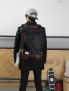 Y-MASTER Back pack(กระเป๋าเป้ สะพายหลัง) BA016 สีดำ พร้อมส่ง