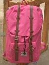 Back pack(กระเป๋าเป้ สะพายหลัง) BA027 สี ชมพู พร้อมส่ง