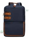 Back pack(กระเป๋าเป้ สะพายหลัง) BA028 สีน้ำเงิน พร้อมส่ง