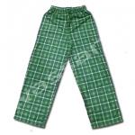 กางเกง สีเขียว-ดำ ลายสก็อตต์ ยี่ห้อ Faded Glory 10T