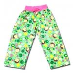 กางเกง สีเขียว ลายลิงกับหัวใจ ยี่ห้อ Place 4T