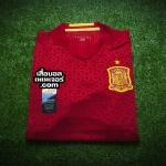 เสื้อบอลเวอร์ชั่นนักเตะ Adizero ทีมชาติสเปน เหย้า Spain Home Player Issue 2016