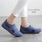 รองเท้าผ้าใบเพื่อสุขภาพ สวยเก๋เท่ห์ ใส่ง่าย ถอดง่าย ไม่ต้องนั่งผูกเชือก พื้นยางอย่างดี น้ำหนักเบา ใส่นิ้มนิ่ม เดินนุ่มสบาย ใส่ชิวๆ ใส่เที่ยวได้ตลอด ของจริงสวยงามมาก