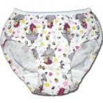 กางเกงในเด็กหญิง สีขาว ลาย Fancy Nancy กับดอกไม้ 6T