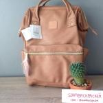 กระเป๋าเป้ Anello Leather Pink (Standard) หนัง PU กันน้ำ