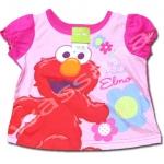 เสื้อ สีบานเย็น ลาย Sesame Street 12M