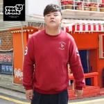 พรีออเดอร์ เสื้อ Sweater สำหรับผู้ชายไซส์ใหญ่ แขนยาว เก๋ เท่ห์ - Preorder Large Size Men Hitz Long-sleeved Sweater