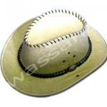หมวกคาวบอย สีทอง ลายมังกร