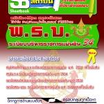 คู่มือสอบ แนวข้อสอบ พ.ร.บ.ระเบียบบริหารราชการแผ่นดิน 2534 (หนังสือ+MP3)