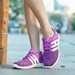 รองเท้าผ้าใบแฟชั่น เฉดสีทูโทนที่แมตช์กันดีกับพื้นยางสีขาว โดดเด่น ด้วยน้ำหนักเบาพิเศษ ให้ความรู้สึกที่นุ่มเบาสบายเท้า งานผ้าใบเกรดพรี เมี่ยม Mix & Match ได้กับเสื้อผ้าสไตล์ทุกสไตล์ สีชมพู เทา ม่วง สูงหน้า 1.5 ซม. ส้นสูง 3 ซม.