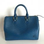 [SOLDOUT]Used : กระเป๋า Louisvuitton Speedy 25 Epi Blue