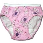 กางเกงในเด็กหญิง สีชมพู ลาย Snow White กับดอกไม้ 2T