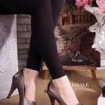 """รองเท้าคัทชู ส้นสูง สไตล์ CHARLES & KEITH ทรงเปิดหน้า Classic แบบ hot ยอดนิยม วัสดุหนังอย่างดี เพิ่มเก๋ด้วยดีเทลโบว์ด้านหลัง สวมใส่ สบาย พื้นนิ่มอย่างดี สูง 4 นิ้ว เสริมหน้า 1"""" ไม่ว่าจะแมทชุดไหน ก็สวย"""