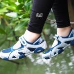 รองเท้าผ้าใบลำลอง Women's Casual Sneaker วัสดุตัดเย็บจากผ้าตาข่าย ผสมหนัง PU อย่างดี ดีไซน์เก๋ มีเอกลักษณ์เฉพาะรุ่นคือสวมใส่แล้วรู้สึกเบา สบาย มาพร้อมกับคาดเมจิกเทปสวมใส่ง่าย เสริมลุคให้สาวๆ ดูทะมัดทะแมง สวยเท่ห์ สปอร์ตเกริล์ สุด cool สีชมพูอ่อน ฟ้า